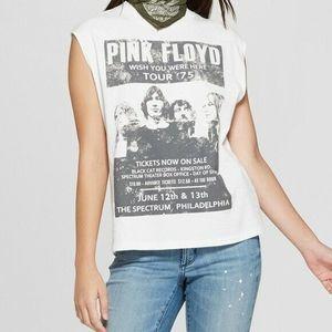 Junk Food Pink Floyd Tour '75 Muscle Shirt Top L